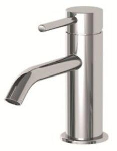Design Wasserhahn für Waschbecken runde Armatur als Einhandmischer