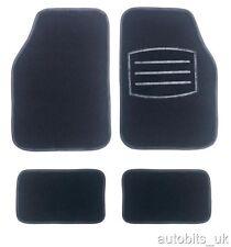 4 PCS BLACK CARPET CAR MATS SET NON SLIP FOR FIAT TIPO BRAVO BRAVA UNO CROMA