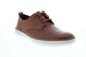 Clarks Komuter Walk 26132743 Mens Brown Oxfords & Lace Ups Plain Toe Shoes 7