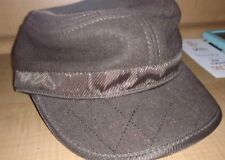 Sean John Wool Lined Patrol Cap, Hat Embroidered Size L Large