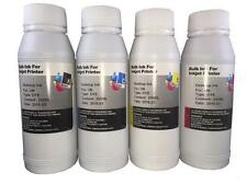 4 Bottles 250ml ink refill kit for HP 21 22 27 28 56 57 74 75 60 60XL 61 61XL