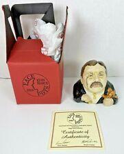 Kevin Francis Face Pots President Teddy Roosevelt - COA Signed