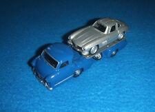mercedes benz original set Transportador de carrera + W198 300 SL 1955 3 Zoll