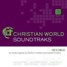 "Deitrick Haddon & Darwin Hobbs - He""s Able - Accompaniment Cd Track New"
