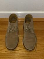 Excellent Cole Haan Mens US 10.5 M Tan Suede Leather Ankle Chukka Desert Boots