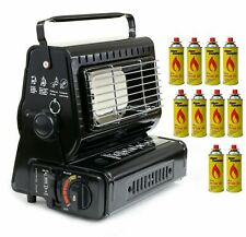 Camping Gas Heater Portable Compact Caravan Outdoor Fishing Butane 1.3kW