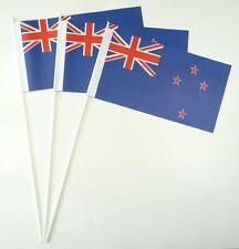 10 Papierfähnchen Neuseeland Papierfahnen Fahne Flagge