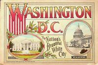 Vintage 1924 Washington DC Souvenir Picture Booklet 32 Pages E1-0013