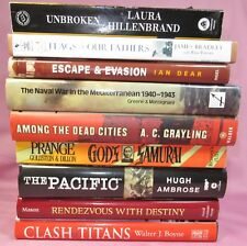 WORLD WAR II lot of 9 - The Pacific + Flag Of Our Fathers + God's Samurai + + +
