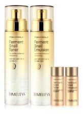 Tonymoly Timeless Ferment Snail Toner Emulsion 2pcs Anti Aging Wrinkle care Set
