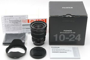 New 1 year warranty include Fuji Fujinon XF 10-24mm F4 R OIS AF Lens from Japan