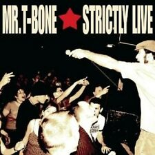 MR T-Bone-Strictly LIVE! CD REGGAE Merce Nuova