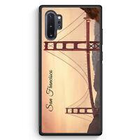 San Francisco Schriftzug Golden Gate Bridge Samsung Galaxy Note 10+ Plus Sili...