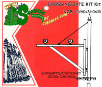 CROSSING GATE KIT Sequoia Scale Models Closeout! HOn3/HOn30 FSM (NOS)