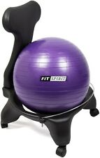 Fit Spirit Exercise Ball Chair- Purple. New. Fitness Ball Chair