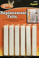 Hme Products Replacement Felts 6 pack for Seal-Tite Drop Wick Dwrf #00800