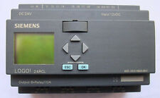 Used SIEMENS LOGO! 24RCL 6ED1 053-1HB00-0BA1 tested
