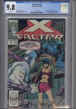 X-Factor #31 CGC 9.8 1988 Marvel Comic: New Frame