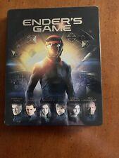 Enders Game (Blu-ray/DVD, 2014, 2-Disc Set Steelbook)