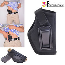 IWB Inside Pants Waistband Concealed Carry Pistol Holster Fit 42 380 lc9 s 17 19