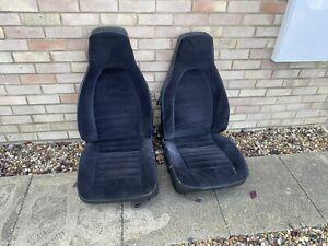 Porsche 944 Tombstone Front Seats Black