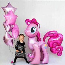 Horse Unicorn Helium Foil Balloons Pony Animals Birthday Kids Party Decorations