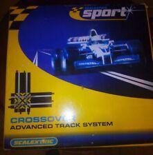 Scalextric Sport & Digital pista 1:32 - C8210 90 ° de cruce + fronteras & barreras
