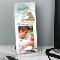 Personalised Daddy Bear 2x3 Photo Frame- Fathers Day Gift Idea