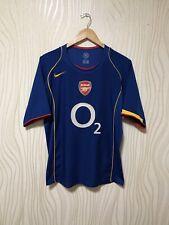 ARSENAL LONDON 2004 2005 AWAY NIKE FOOTBALL SOCCER SHIRT JERSEY