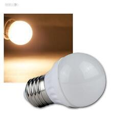 5 LED-Tropfen-Lampen E27 warmweiß, 400lm, Leuchtmittel Birne E-27 230V Glühbirne
