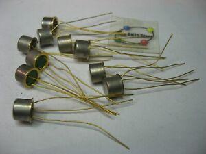 Assorted Vintage Transistor Grab-Bag NPN TO-38 Case - NOS Qty 10