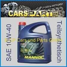 ( € 3,19 / Litro) Aceite de Motor SAE 10W-40 - parte sintético - MANNOL - 5 l