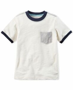 Carter's Toddler Boys Short Sleeve Pocket T-Shirt 3T