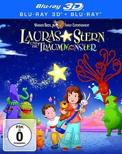 LAURAS STERN UND DIE TRAUMMONSTER (Blu-ray 3D + Blu-ray Disc) NEU+OVP Lenticular