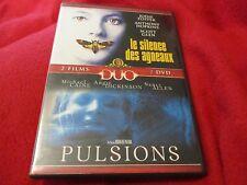 """COFFRET 2 DVD """"LE SILENCE DES AGNEAUX / PULSIONS Michael Caine, Angie Dickinson"""""""