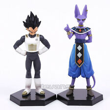 DRAGON BALL Z - SET 2 FIGURAS / VEGETA & BEERUS BILLS / 2 FIGURES SET 16-17cm
