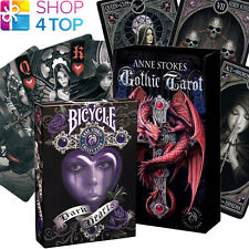 2 DECKS 1 ANNE STOKES GOTHIC TAROT & 1 ANNE STOKES DARK HEARTS PLAYING CARDS