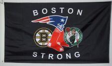 New England Patriots Boston Celtics Red Sox Bruins Flag 3x5 ft US Shipper