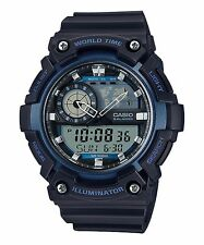 AEQ-200W-2A Blue Casio Men's Watches Standard 10-Year Battery AE-Q200W