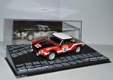 RALLY IXO DIECAST 1/43 Fiat 124 Spider Verini Torriani 1973 eRAL100