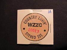 WZZC Iowa Country Radio Wooden Nickel token - IA 101 Country Lovin' Wooden Coin