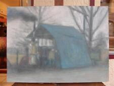 Guy Nardeau artiste peintre 1959 - L' alambic 53 x 39,5 cm *