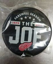 Detroit Redwings hockey puck Farewell To The Joe Little Caesars Arena