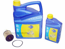 PEUGEOT 407 2.0 2.2 HDI OIL FILTER & 6L 5W30 SYNTHETIC ENGINE OIL SERVICE KIT