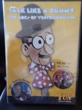 Talk Like a Dummy - The Art of Ventriloquism with Bob Rumba - BRAND NEW SEALED!!