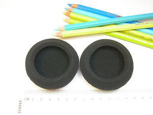 2 Coussinets de rechange en mousse pour Casque p.e. Logitech H600 , Sony et al.
