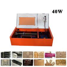 12x 8 40w Co2 Laser Engraving Machine Laser Engraver Laser Cutter Usb Port