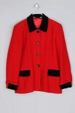 ESCADA Vintage-Blazer mit Angora D 40 rot