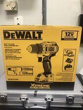 DEWALT DCD701F2 XTREME 12V MAX 3/8 in. Li-ion Drill Driver Kit.. New