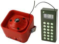 SCACCIA UCCELLI elettronico acustico sonoro per tutti i volatili con telecomando